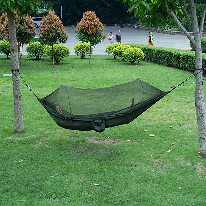 your portable policy quality hammock isyoung high warranty and limited durable green cover parachute us mosquito guaranteed persons price with satisfaction army refund day outdoors is good year one fabric net product